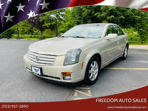 2007 Cadillac CTS for sale at Freedom Auto Sales in Chantilly VA