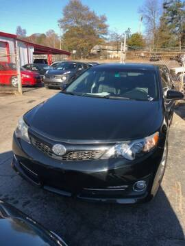 2012 Toyota Camry for sale at LAKE CITY AUTO SALES - Jonesboro in Morrow GA