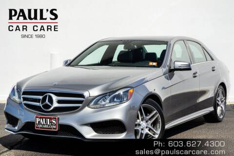 2015 Mercedes-Benz E-Class for sale at Paul's Car Care in Manchester NH