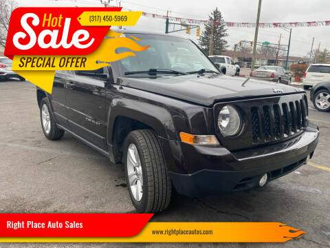 2014 Jeep Patriot for sale at Right Place Auto Sales in Indianapolis IN