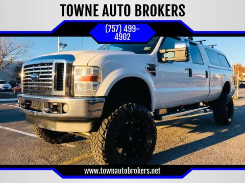 2009 Ford F-350 Super Duty for sale at TOWNE AUTO BROKERS in Virginia Beach VA