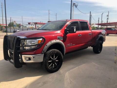 2017 Nissan Titan XD for sale at Premier Foreign Domestic Cars in Houston TX