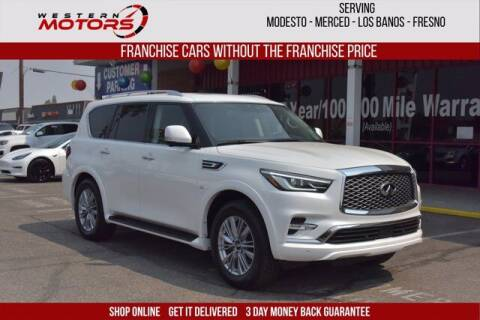 2019 Infiniti QX80 for sale at Choice Motors in Merced CA