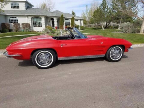 1963 Chevrolet Corvette for sale at Hines Auto Sales in Marlette MI