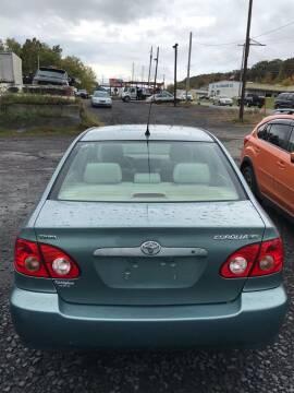 2006 Toyota Corolla for sale at Keyser Autoland llc in Scranton PA