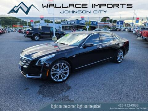2017 Cadillac CT6 for sale at WALLACE IMPORTS OF JOHNSON CITY in Johnson City TN