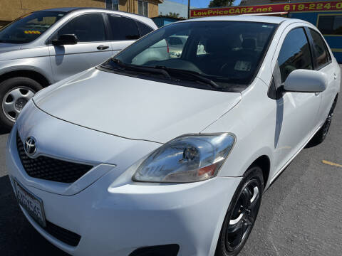 2012 Toyota Yaris for sale at CARZ in San Diego CA
