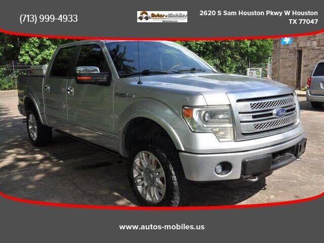 2014 Ford F-150 for sale at AUTOS-MOBILES in Houston TX