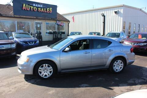 2014 Dodge Avenger for sale at BANK AUTO SALES in Wayne MI