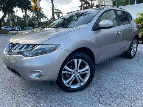 2010 Nissan Murano for sale at Car Net Auto Sales in Plantation FL