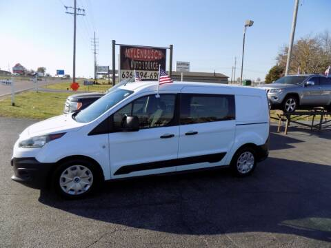 2017 Ford Transit Connect Cargo for sale at MYLENBUSCH AUTO SOURCE in O` Fallon MO