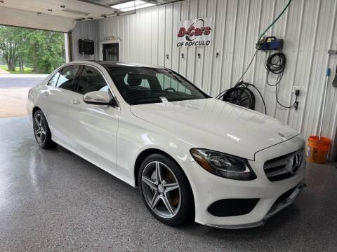 2015 Mercedes-Benz C-Class for sale at D-Cars LLC in Zeeland MI