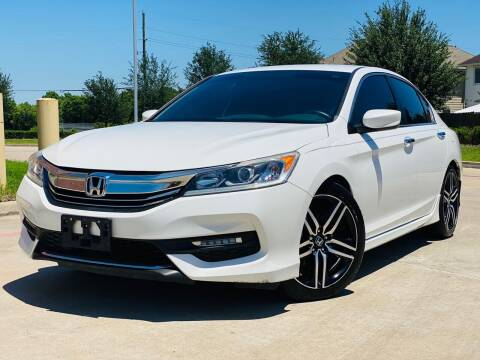 2016 Honda Accord for sale at AUTO DIRECT in Houston TX