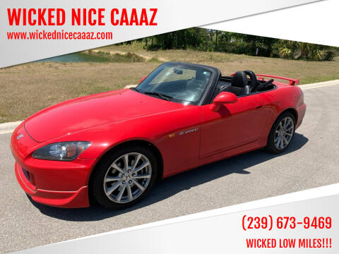 2006 Honda S2000 for sale at WICKED NICE CAAAZ in Cape Coral FL