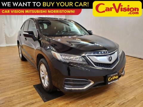 2016 Acura RDX for sale at Car Vision Mitsubishi Norristown in Trooper PA