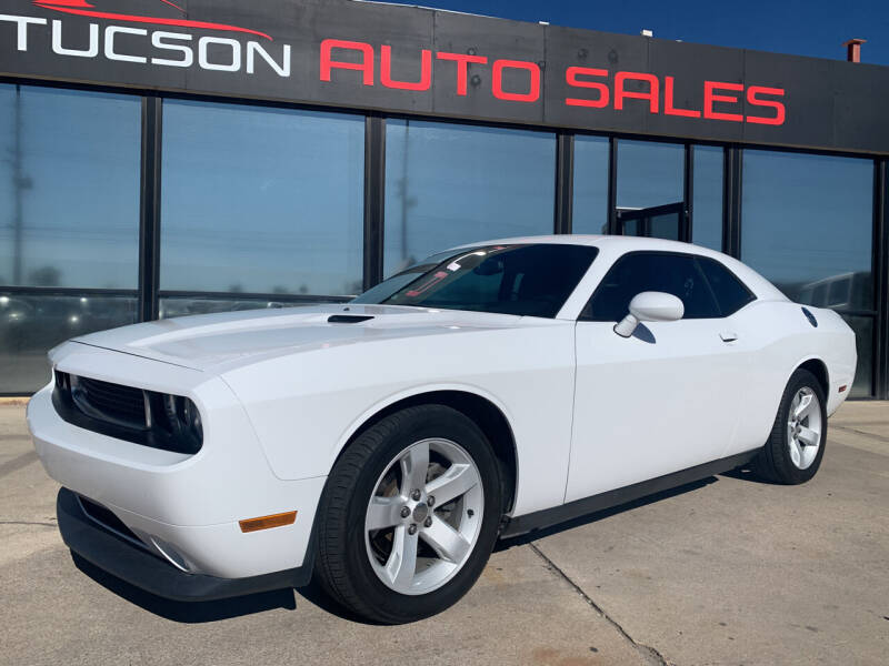 2013 Dodge Challenger for sale at Tucson Auto Sales in Tucson AZ