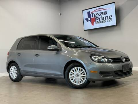 2012 Volkswagen Golf for sale at Texas Prime Motors in Houston TX
