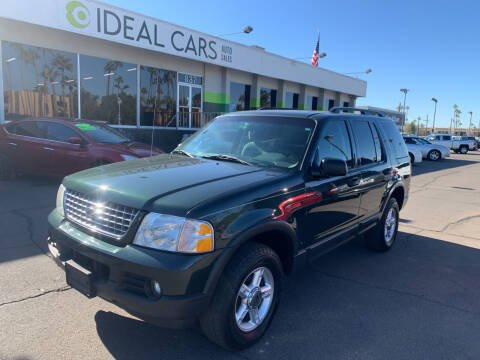 2003 Ford Explorer for sale at Ideal Cars in Mesa AZ