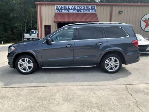 2014 Mercedes-Benz GL-Class for sale at Daniel Used Auto Sales in Dallas GA