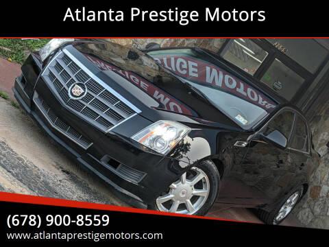 2009 Cadillac CTS for sale at Atlanta Prestige Motors in Decatur GA