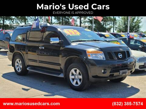 2013 Nissan Armada for sale at Mario's Used Cars in Houston TX