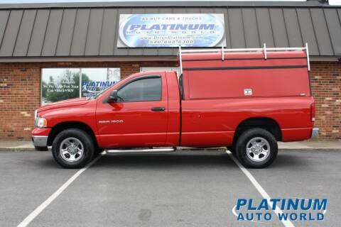 2005 Dodge Ram Pickup 1500 for sale at Platinum Auto World in Fredericksburg VA