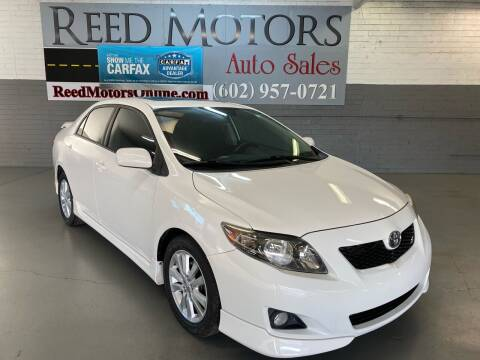 2010 Toyota Corolla for sale at REED MOTORS LLC in Phoenix AZ
