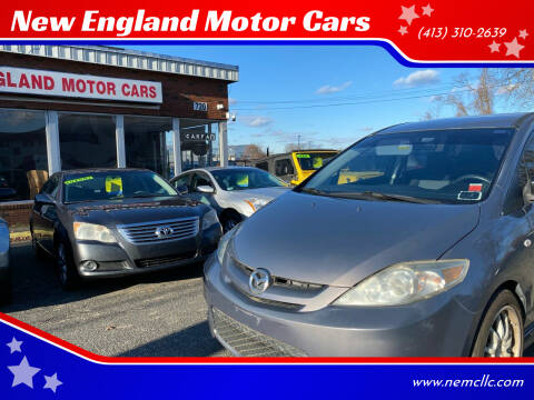 2007 Mazda MAZDA5 for sale at New England Motor Cars in Springfield MA