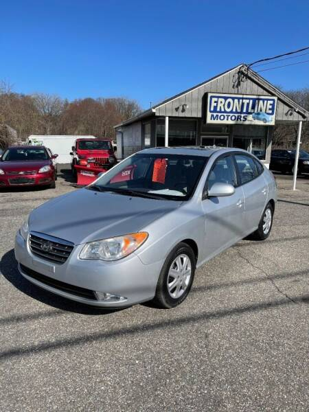 2009 Hyundai Elantra for sale at Frontline Motors Inc in Chicopee MA