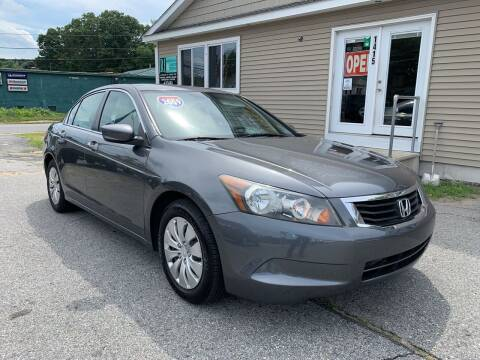 2009 Honda Accord for sale at Home Towne Auto Sales in North Smithfield RI