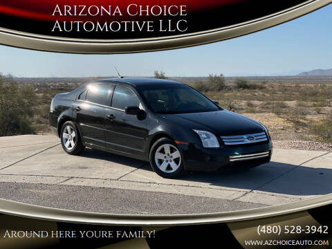 2008 Ford Fusion for sale at Arizona Choice Automotive LLC in Mesa AZ