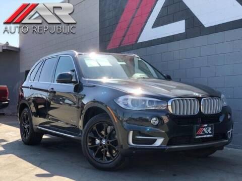 2015 BMW X5 for sale at Auto Republic Fullerton in Fullerton CA