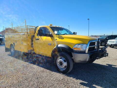 2011 RAM Ram Chassis 5500 for sale at BERKENKOTTER MOTORS in Brighton CO