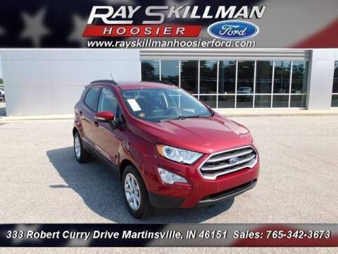 2021 Ford EcoSport for sale at Ray Skillman Hoosier Ford in Martinsville IN