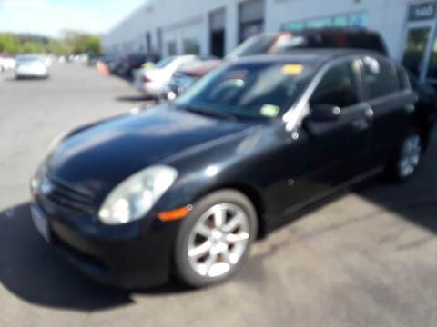 2006 Infiniti G35 for sale at M & M Auto Brokers in Chantilly VA