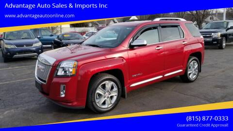 2013 GMC Terrain for sale at Advantage Auto Sales & Imports Inc in Loves Park IL