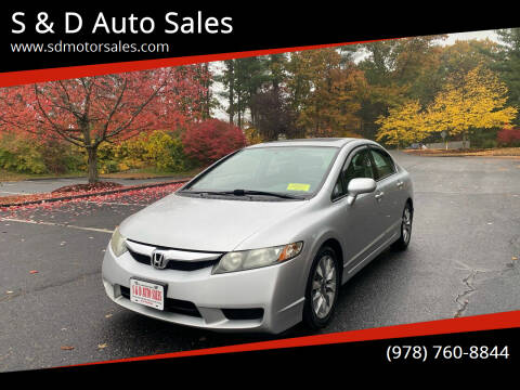 2011 Honda Civic for sale at S & D Auto Sales in Maynard MA