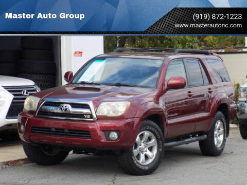 2007 Toyota 4Runner for sale at Master Auto Group in Raleigh NC