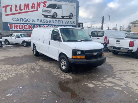 2013 Chevrolet Express Cargo for sale at Connect Truck and Van Center in Indianapolis IN