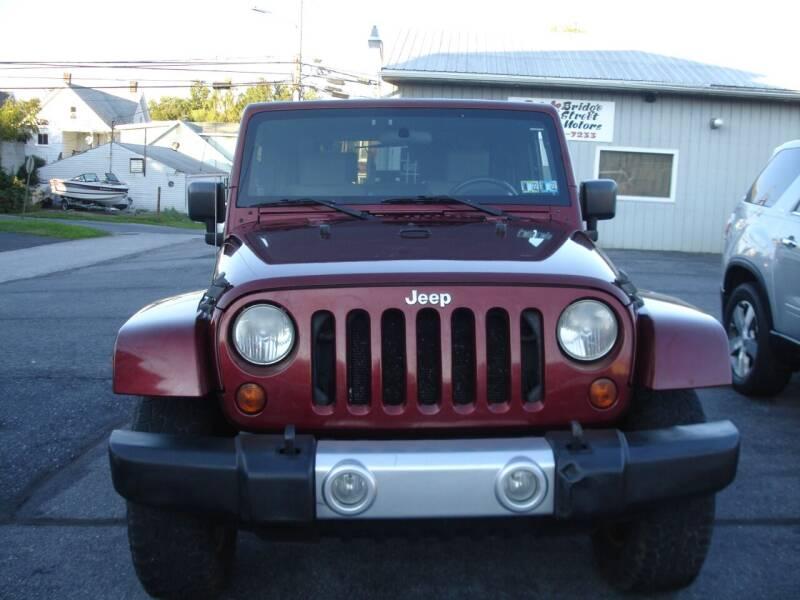 2008 Jeep Wrangler for sale at Pete's Bridge Street Motors in New Cumberland PA