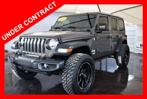 2018 Jeep Wrangler Unlimited for sale at 1st Class Motors in Phoenix AZ