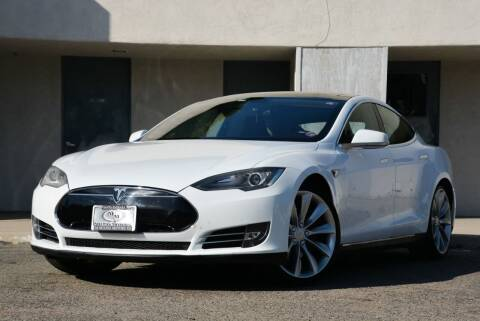 2013 Tesla Model S for sale at Milpas Motors in Santa Barbara CA