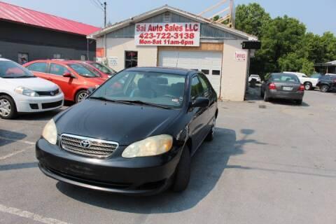 2005 Toyota Corolla for sale at SAI Auto Sales - Used Cars in Johnson City TN