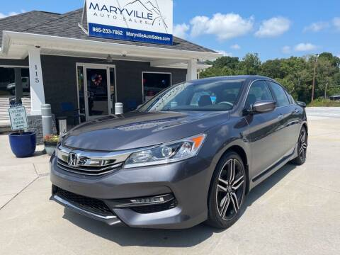 2017 Honda Accord for sale at Maryville Auto Sales in Maryville TN