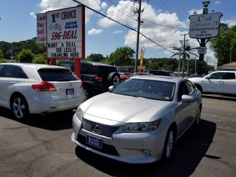 2013 Lexus ES 350 for sale at 1st Choice Auto Sales in Newport News VA