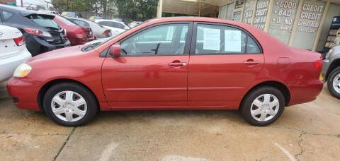 2008 Toyota Corolla for sale at Tims Auto Sales in Rocky Mount NC