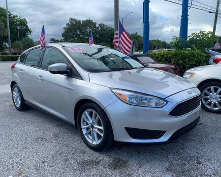 2016 Ford Focus for sale at AUTO PROVIDER in Fort Lauderdale FL