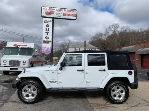 2013 Jeep Wrangler Unlimited for sale at 401 Auto Sales & Service in Smithfield RI