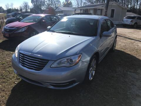 2013 Chrysler 200 for sale at Southtown Auto Sales in Whiteville NC