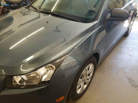 2012 Chevrolet Cruze for sale at MARVIN'S AUTO BODY in Farmington ME